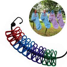 boutique la corde a linge portable voyage extensible corde à linge en plein air cing