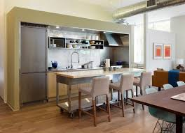 Portable Kitchen Island With Seating For 4 Regard To Small