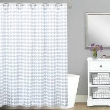Pink Ruffle Curtains Uk by White Waffle Shower Curtain Cotton Uk Integralbook Com