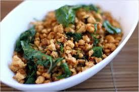 cuisine thailandaise recette poulet au basilic à la thaïlandaise recettes de cuisine thaïlandaise