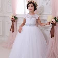 compare prices girls white pageant dresses shopping