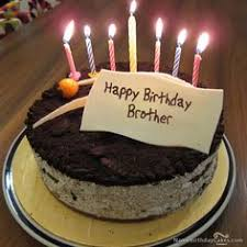 The name brother is generated on Cute Birthday Cake For Friends With Name image