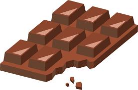 Chocolate Sweets Bitten Słodycz Słodkie