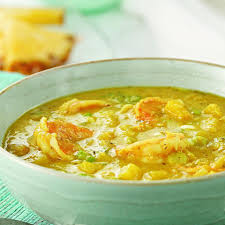 Jamaican Pumpkin Soup Vegan by Jamaican Curried Shrimp U0026 Mango Soup Recipe Eatingwell