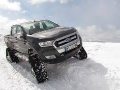 rubber track conversion system acf for ford ranger acf track