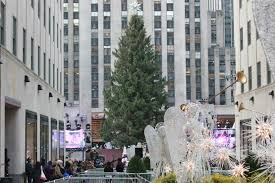 Rockefeller Plaza Christmas Tree Lighting 2017 by Rockefeller Center Christmas Tree Pictures New York Sightseeing