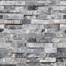 100 Modern Stone Walls Blooming Wall Faux Brick Textured Wallpaper