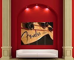 FENDER JAZZ BASS GUITAR GIANT WALL ART POSTER X3032