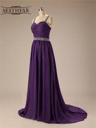 compare prices on dark purple bridesmaid dresses online shopping