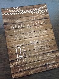 Rustic Wedding Invitations Cheap Best 25 Ideas On Pinterest