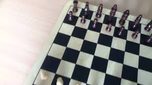 The Layout Of A Chess Board For Beginners