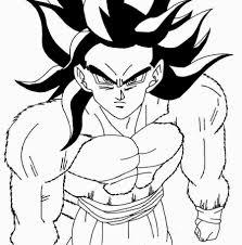 Dibujo De Goku Y Vegeta Fase 4 De Drago Dragon Ball Dragon Ball