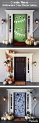 Halloween Door Decorations Pinterest by Top 25 Best Halloween Door Decorations Ideas On Pinterest