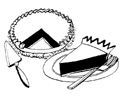 Pie black and white pie clip art black and white free clipart images 5