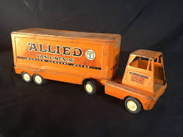 VINTAGE TONKA TOYS ALLIED VAN LINES PRESSED STEEL MODEL