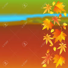 Beautiful Autumn Colorful Wallpaper With Yellow Orange Red Leaves Nature Background Leaf Fall