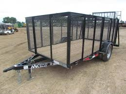 Landscaping Trailer For Sale 2018 Landscape Single Axle 77 X12 GVWR 2990 NEW 2017 6