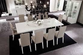 White High Gloss Dining Room Furniture Set