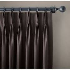 Restoration Hardware Estate Curtain Rods by Cast Iron Square Finials Chestnut Set Of 2 35 Liked On
