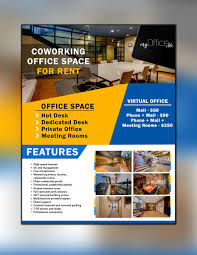 100 Office Space Pics Entry 15 By RaisulDesignes For FLYER For Coworking For
