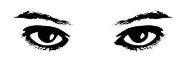 Eyes Watching Coloring Page