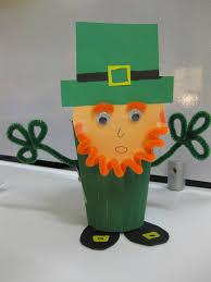St Patricks Day Leprechaun Cup Craft