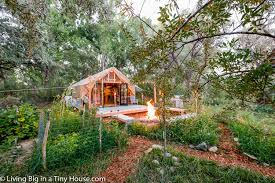 100 House In Nature Back To Living A Beautiful Tiny Tent
