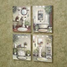 Wall Decor Bathroom Ideas Restroom Rustic