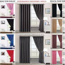 Teal Blackout Curtains Pencil Pleat by Thermal Blackout Curtains Ebay
