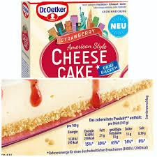 foodschau werbung dr oetker cheesecakes american