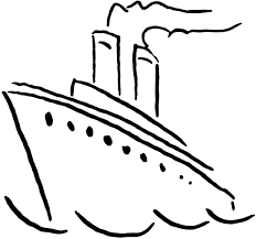 Ship Clipart Black And White Boat Clip Art Free Images For Teachers