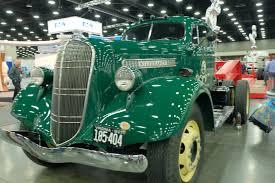 100 Jones Trucking American Truck Historical Society Display At MATS Equipment