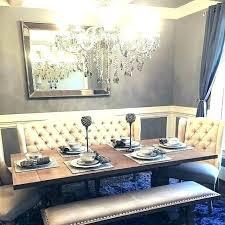 Dining Room Settees Settee For Table With