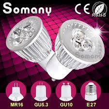 dimmable led spotlight gu10 gu5 3 e27 220v 110v mr16 12v