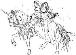 Frozen Horse Coloring Pages
