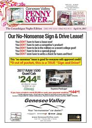 Genesee Ceramic Tile Dist Inc by The Genesee Valley Penny Saver Canandaigua Naples Edition 4 14 17