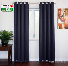 Thermal Lined Curtains Australia by Blue Window Curtains Ebay