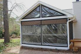 vinyl window coverings for screened in porch weather proof your
