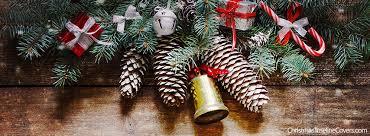 Pinecones Christmas Tree Facebook Cover