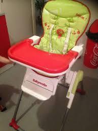 siege babymoov chaise haute babymoov prend peu de place une fois pliée