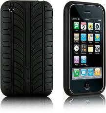 Tire Tread iPhone 3G case SlipperyBrick