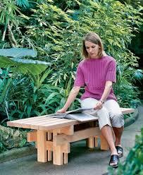 japanese garden bench plans u2022 woodarchivist