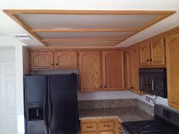 Kitchen Soffit Trim Ideas by How To Update Old Kitchen Lights Recessedlighting Com