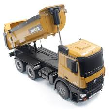 100 Large Dump Trucks Truck 1573 Upgraded Battery Huina Remote Control Truck