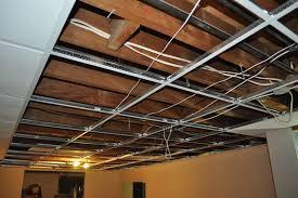 how to install a basement ceiling basement inspiring