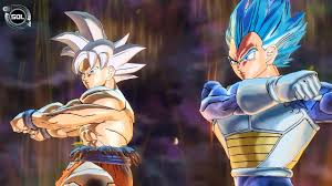NEW FUSION Goku UI And Vegeta Beyond SSB VS Zen Oh Fusion