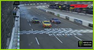 100 Nascar Truck Race Results Joey Logano Wins At Martinsville To Advance To Championship 4 MRN