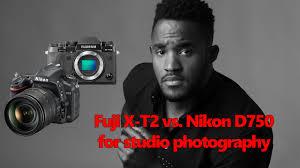 100 Fuji Studio XT2 Vs Nikon D750 In The Studio With Sample Raw Files