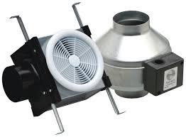 Do Duct Free Bathroom Fans Work by Fantech Pb110 Inline Exhaust Bath Fan Kit 110 Cfm Remote Mount