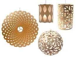 Laser Cut Lamp Shade by Iti Kitset Customizable Lampshade